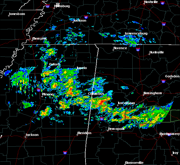 Radar Image for Severe Thunderstorms near Reform, AL at 4/19/2020 11:04 AM CDT