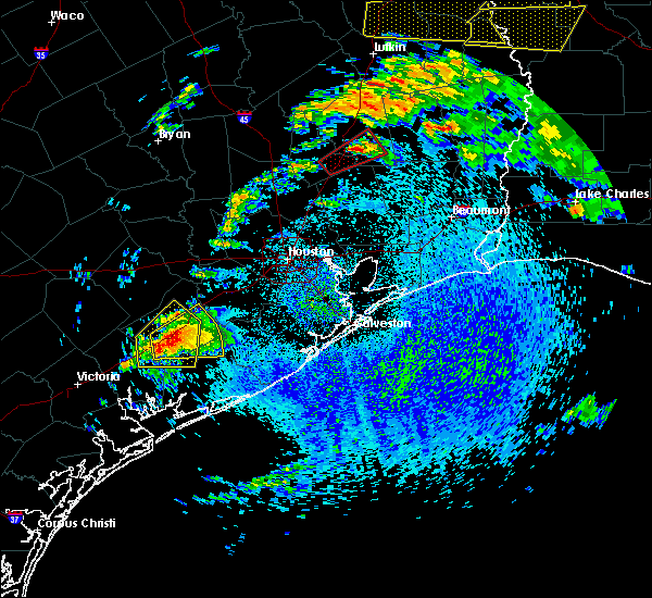 Radar Image for Severe Thunderstorms near El Campo, TX at 4/19/2020 12:47 PM CDT
