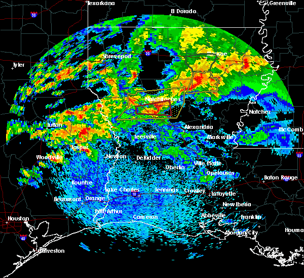 Radar Image for Severe Thunderstorms near St. Maurice, LA at 4/19/2020 1:50 PM CDT
