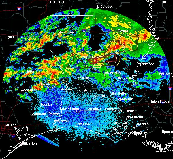 Radar Image for Severe Thunderstorms near Browndell, TX at 4/19/2020 2:02 PM CDT