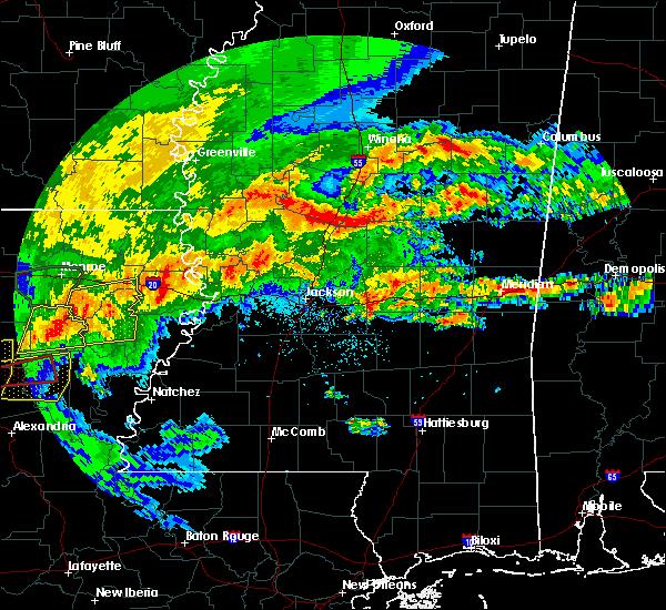 Radar Image for Severe Thunderstorms near Polkville, MS at 4/19/2020 2:03 PM CDT