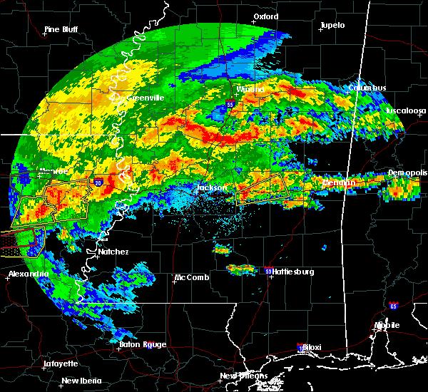 Radar Image for Severe Thunderstorms near Polkville, MS at 4/19/2020 2:13 PM CDT