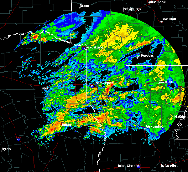 Radar Image for Severe Thunderstorms near Burke, TX at 4/19/2020 2:52 PM CDT
