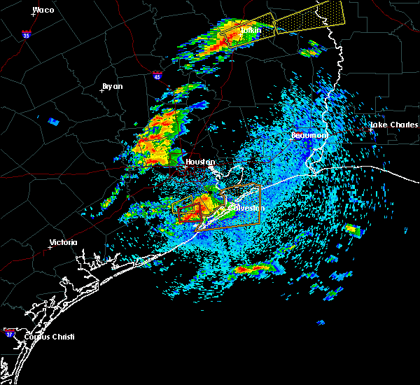 Radar Image for Severe Thunderstorms near Texas City, TX at 4/19/2020 2:57 PM CDT