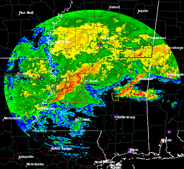 Radar Image for Severe Thunderstorms near Bay Springs, MS at 4/19/2020 3:23 PM CDT