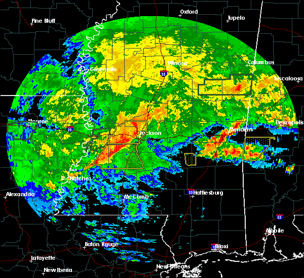 Radar Image for Severe Thunderstorms near Flowood, MS at 4/19/2020 3:31 PM CDT