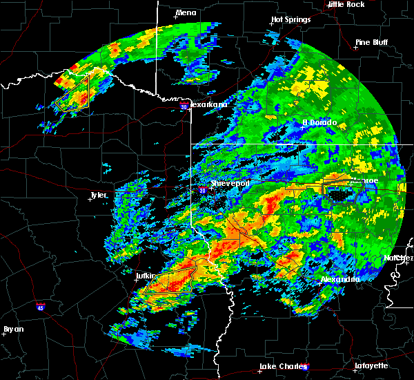 Radar Image for Severe Thunderstorms near Paris, TX at 4/19/2020 3:55 PM CDT