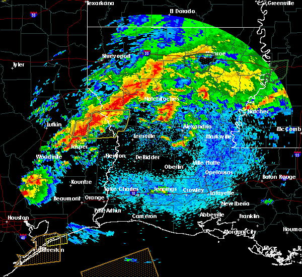 Radar Image for Severe Thunderstorms near Fisher, LA at 4/19/2020 4:03 PM CDT