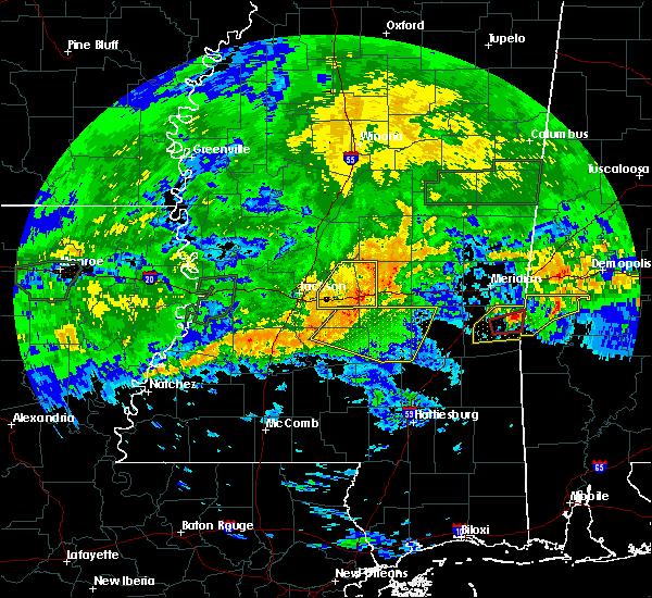 Radar Image for Severe Thunderstorms near Polkville, MS at 4/19/2020 4:08 PM CDT