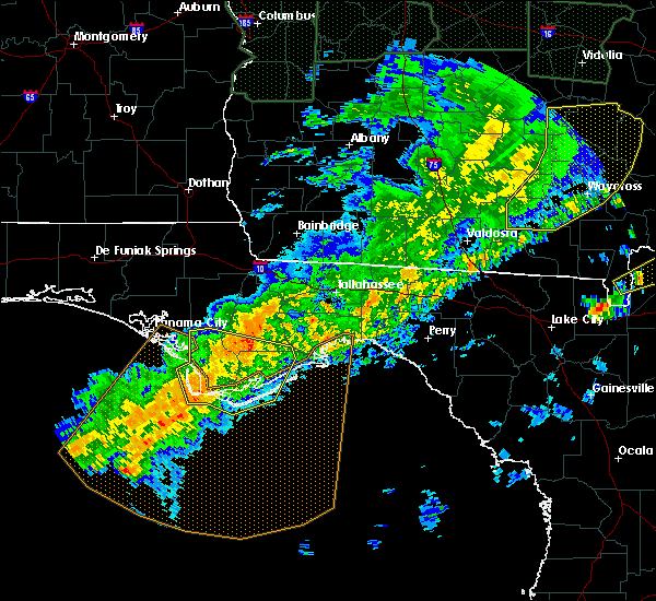 Radar Image for Severe Thunderstorms near St. Marks, FL at 4/20/2020 4:50 AM EDT
