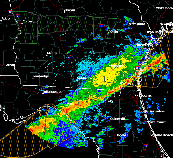 Radar Image for Severe Thunderstorms near Perry, FL at 4/20/2020 6:16 AM EDT