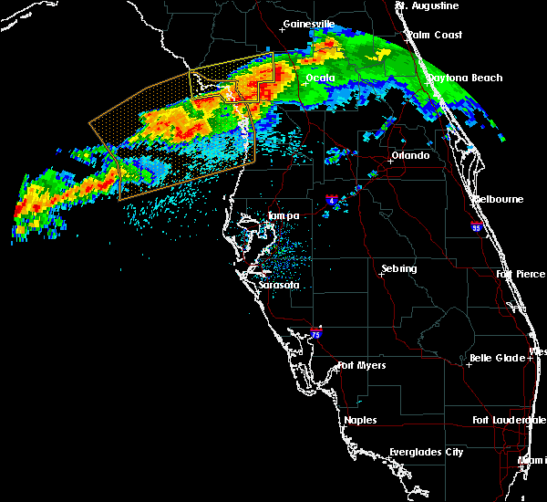 Radar Image for Severe Thunderstorms near Inglis, FL at 4/20/2020 9:15 AM EDT