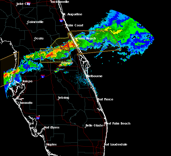 Radar Image for Severe Thunderstorms near Howey-in-the-Hills, FL at 4/20/2020 11:09 AM EDT