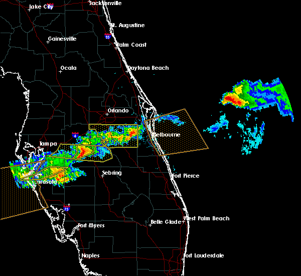 Radar Image for Severe Thunderstorms near Bartow, FL at 4/20/2020 1:58 PM EDT
