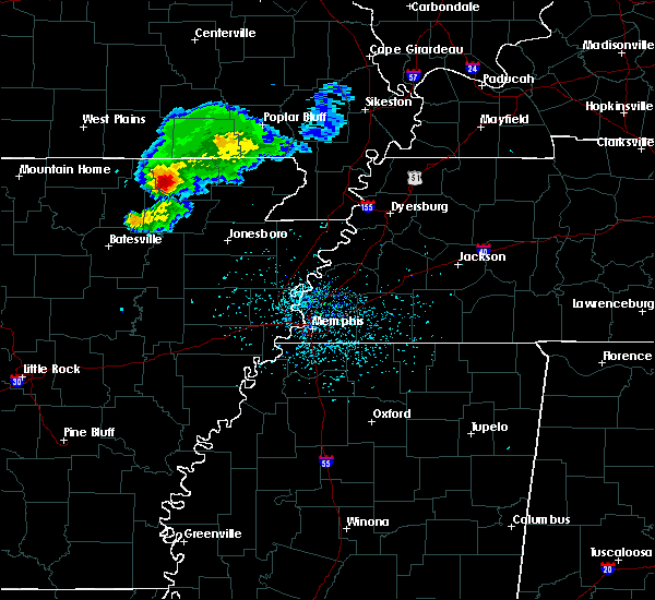 Radar Image for Severe Thunderstorms near College City, AR at 4/20/2020 5:44 PM CDT