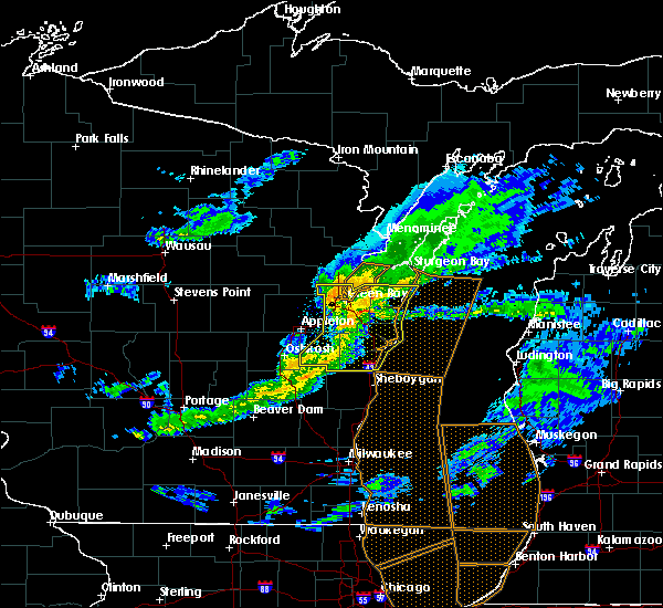Radar Image for Severe Thunderstorms near Hobart, WI at 4/20/2020 8:08 PM CDT