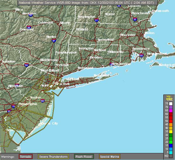 Radar Image for Severe Thunderstorms near Upper Brookville, NY at 4/21/2020 2:36 PM EDT