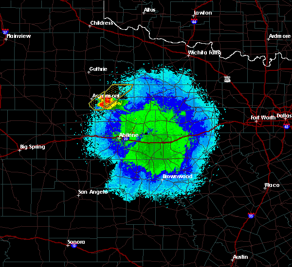 Radar Image for Severe Thunderstorms near Rochester, TX at 4/21/2020 9:36 PM CDT