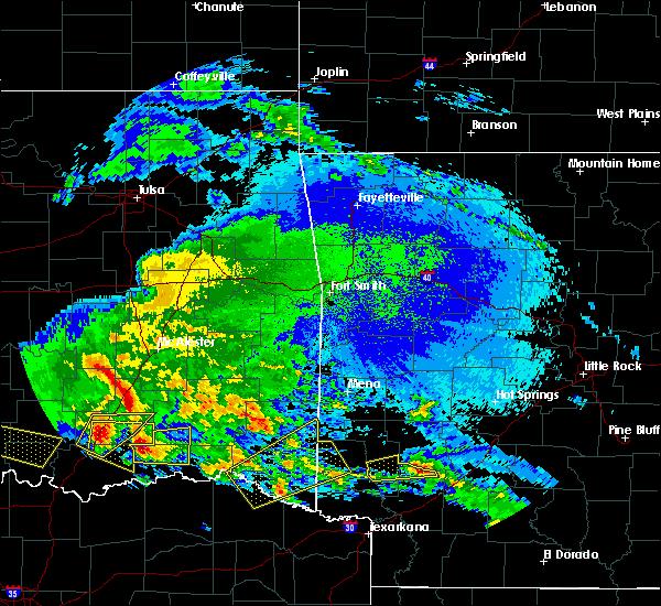 Radar Image for Severe Thunderstorms near Nashville, AR at 4/22/2020 2:58 AM CDT