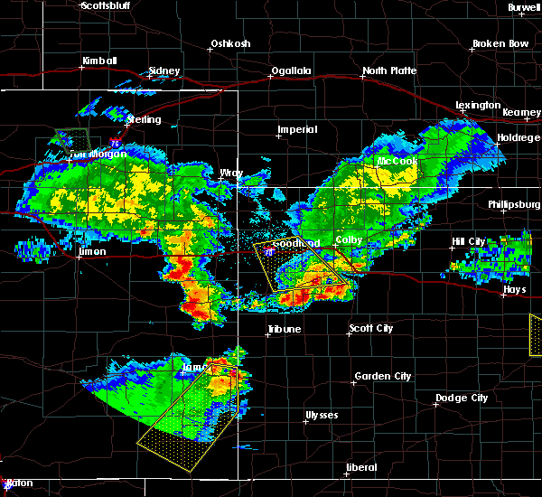 Radar Image for Severe Thunderstorms near Russell Springs, KS at 6/26/2015 12:18 AM CDT