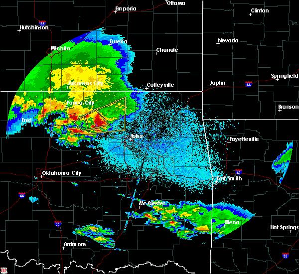 Radar Image for Severe Thunderstorms near Avant, OK at 4/22/2020 7:42 AM CDT