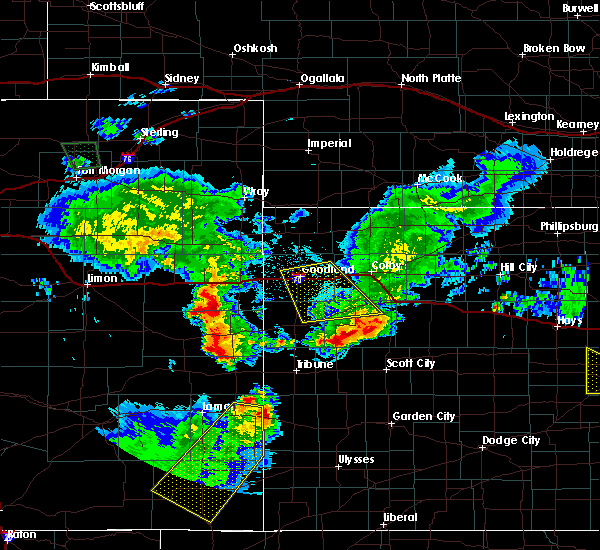 Radar Image for Severe Thunderstorms near Russell Springs, KS at 6/26/2015 12:37 AM CDT