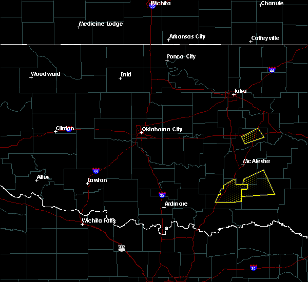 Radar Image for Severe Thunderstorms near Forest Park, OK at 4/22/2020 12:06 PM CDT