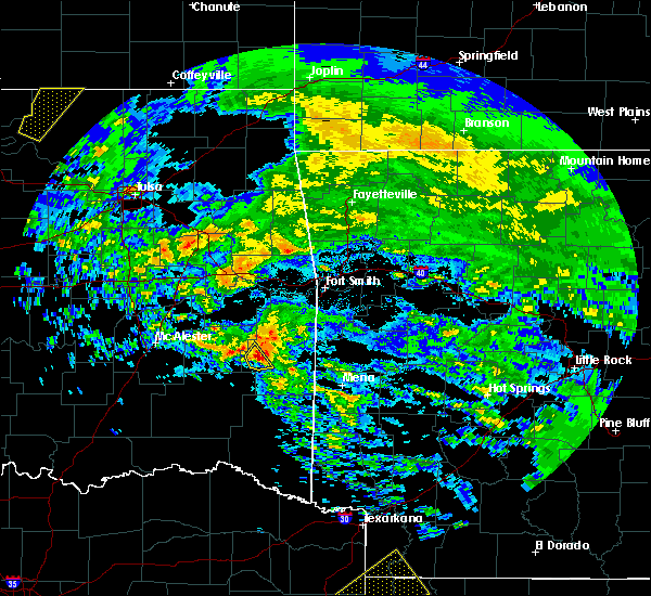 Radar Image for Severe Thunderstorms near Whitesboro, OK at 4/22/2020 12:50 PM CDT