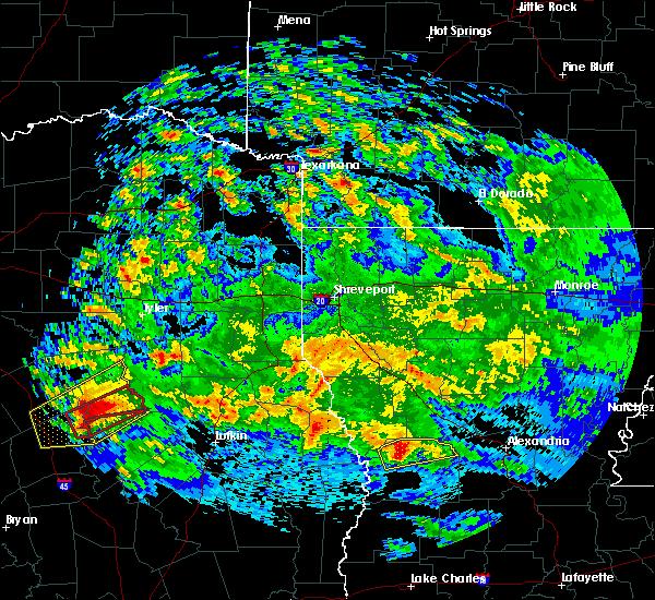 Radar Image for Severe Thunderstorms near Oakwood, TX at 4/22/2020 2:28 PM CDT