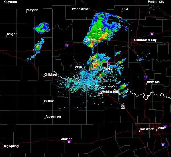 Radar Image for Severe Thunderstorms near Medicine Park, OK at 4/22/2020 2:38 PM CDT