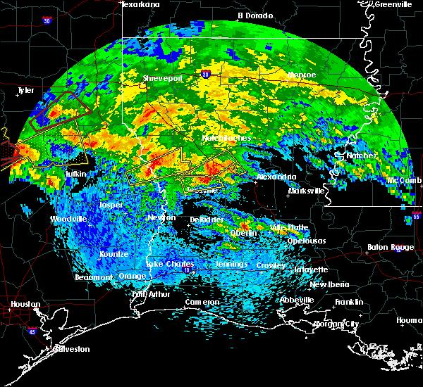 Radar Image for Severe Thunderstorms near Boyce, LA at 4/22/2020 2:51 PM CDT