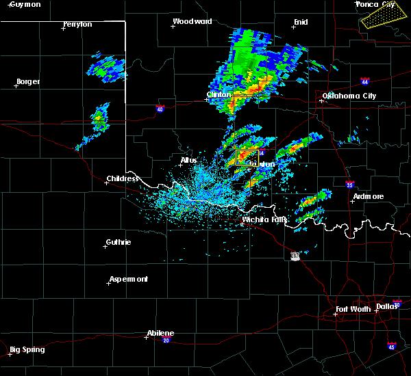 Radar Image for Severe Thunderstorms near Medicine Park, OK at 4/22/2020 2:54 PM CDT