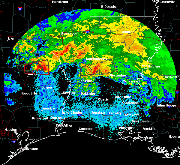 Radar Image for Severe Thunderstorms near Boyce, LA at 4/22/2020 4:18 PM CDT
