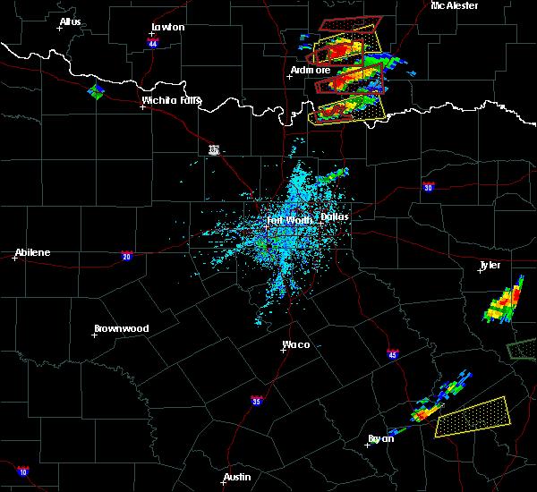 Radar Image for Severe Thunderstorms near Colbert, OK at 4/22/2020 5:08 PM CDT