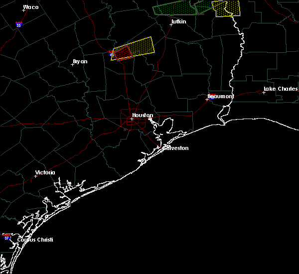 Radar Image for Severe Thunderstorms near Trinity, TX at 4/22/2020 5:20 PM CDT