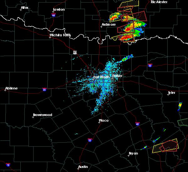 Radar Image for Severe Thunderstorms near Colbert, OK at 4/22/2020 5:33 PM CDT