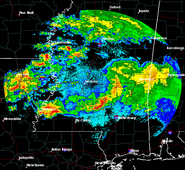Radar Image for Severe Thunderstorms near Soso, MS at 4/22/2020 11:15 PM CDT