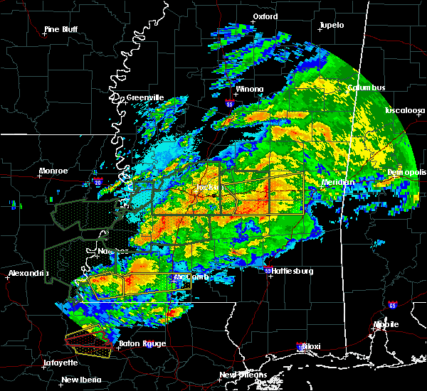 Radar Image for Severe Thunderstorms near Newton, MS at 4/23/2020 2:50 AM CDT