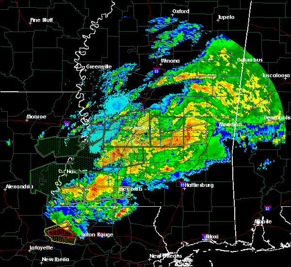 Radar Image for Severe Thunderstorms near Newton, MS at 4/23/2020 3:00 AM CDT