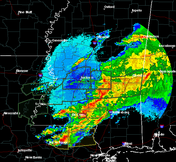 Radar Image for Severe Thunderstorms near Bay Springs, MS at 4/23/2020 4:05 AM CDT