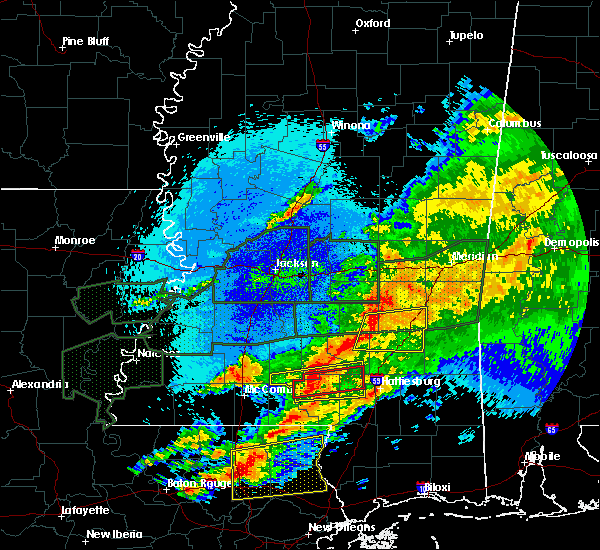 Radar Image for Severe Thunderstorms near Bay Springs, MS at 4/23/2020 4:15 AM CDT