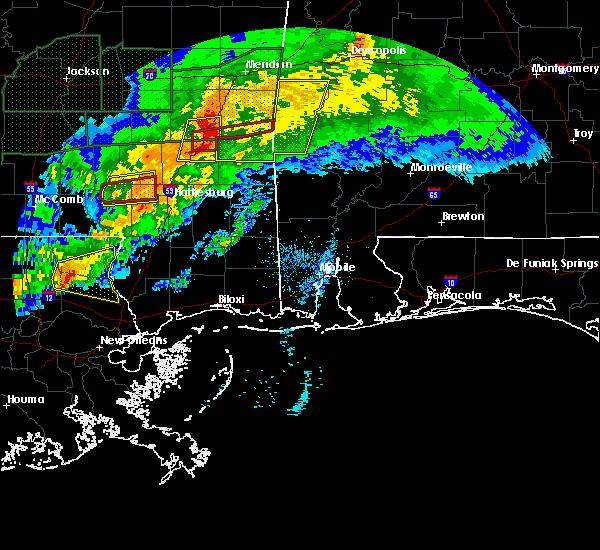 Radar Image for Severe Thunderstorms near Silas, AL at 4/23/2020 4:29 AM CDT