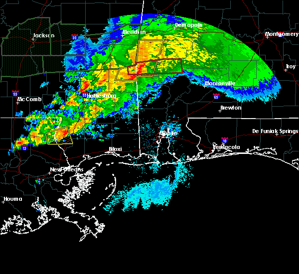 Radar Image for Severe Thunderstorms near Fulton, AL at 4/23/2020 5:11 AM CDT