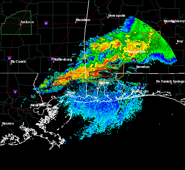 Radar Image for Severe Thunderstorms near Spanish Fort, AL at 4/23/2020 6:53 AM CDT