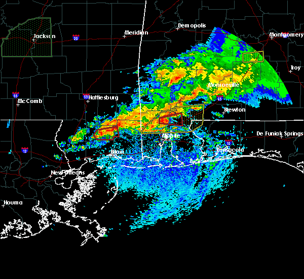 Radar Image for Severe Thunderstorms near Spanish Fort, AL at 4/23/2020 7:05 AM CDT