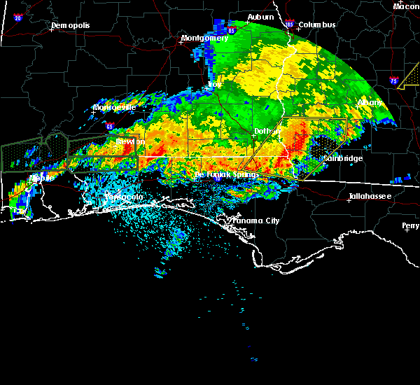 Radar Image for Severe Thunderstorms near Whitfield, FL at 4/23/2020 10:30 AM CDT