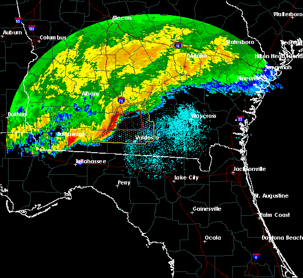 Radar Image for Severe Thunderstorms near Lakeland, GA at 4/23/2020 12:56 PM EDT