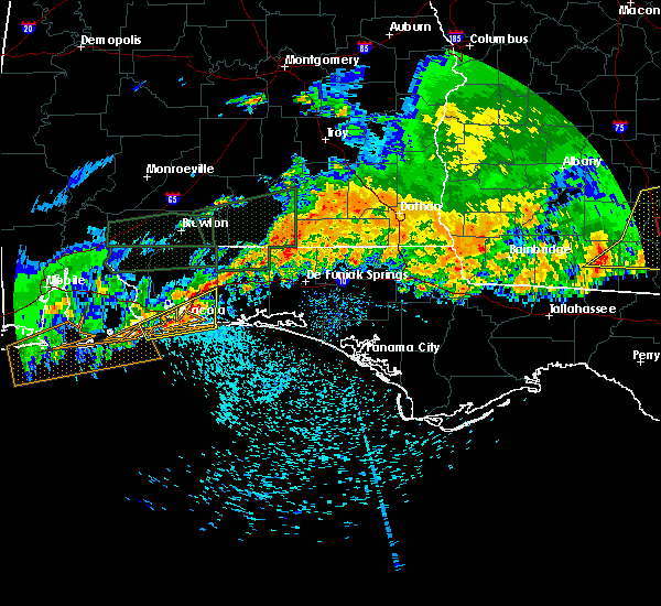 Radar Image for Severe Thunderstorms near Midway, FL at 4/23/2020 12:21 PM CDT