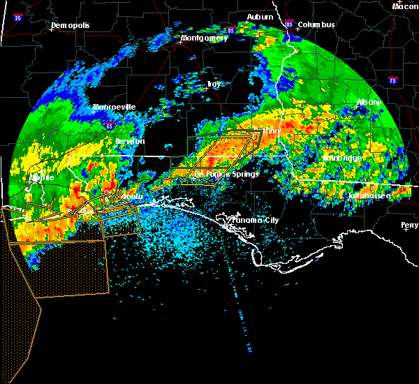 Radar Image for Severe Thunderstorms near Slocomb, AL at 4/23/2020 1:49 PM CDT