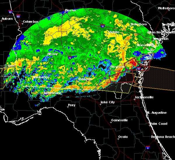 Radar Image for Severe Thunderstorms near Woodbine, GA at 4/23/2020 3:07 PM EDT